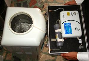 Küçük Ev Tipi Sebil Temizliği